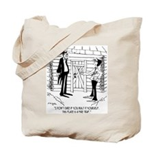 Lincoln's Fire Trap Tote Bag