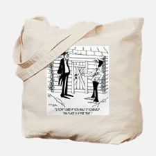 Lincoln's Fire Trap Tote Bag