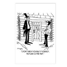 Lincoln's Fire Trap Postcards (Package of 8)