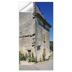Low angle view of a house in a village, Auribeau, Wall Decal