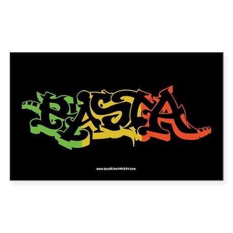 Rasta Sticker 2 Sticker (Rectangle)