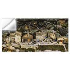 Model of a traditional town, Provence, France Wall Decal