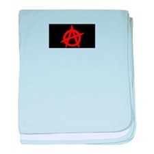 Anarchy baby blanket