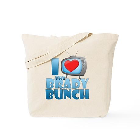 I Heart The Brady Bunch Tote Bag