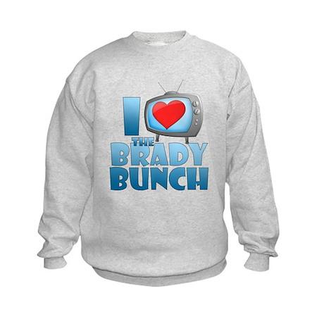 I Heart The Brady Bunch Kids Sweatshirt