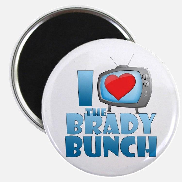 I Heart The Brady Bunch Magnet