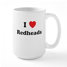 I Heart Redheads Mug
