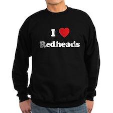 I Heart Redheads Sweatshirt