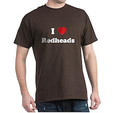 I Heart Redheads T-Shirt