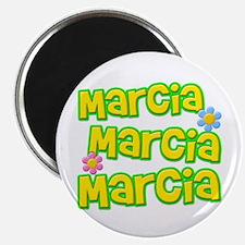 "Marcia, Marcia, Marcia 2.25"" Magnet (100 pack)"