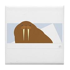 Walrus Tile Coaster