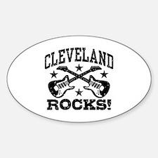 Cleveland Rocks Decal