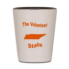 Tennessee: The Volunteer Stat Shot Glass