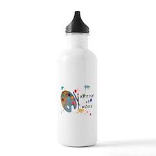 Artist At Work Sports Water Bottle