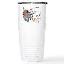 Artist At Work Travel Mug