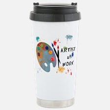 Artist At Work Travel Mug