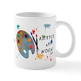 Artist Coffee Mugs