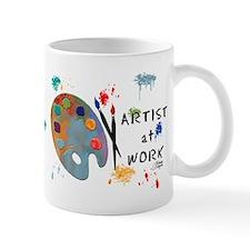 Artist At Work Small Mug