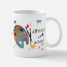 Artist At Work Small Small Mug