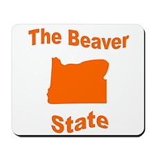 Oregon: The Beaver State Mousepad