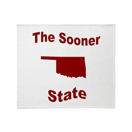Oklahoma: The Sooner State Throw Blanket