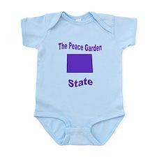 North Dakota: The Peace Garde Infant Bodysuit