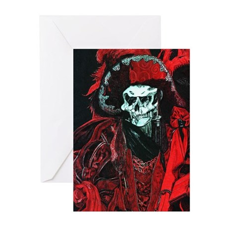 La Mort Rouge - Red Death Greeting Cards (Pk of 10