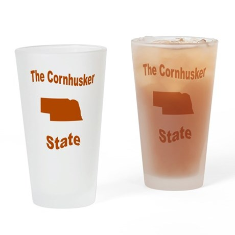 Nebraska: The Cornhusker Stat Drinking Glass