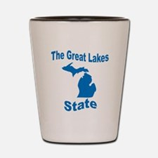 Michigan: The Great Lakes Sta Shot Glass