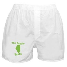 Illinois: The Prairie State Boxer Shorts