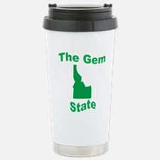Idaho: The Gem State Stainless Steel Travel Mug
