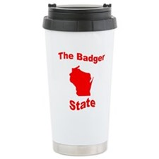 Wisconsin: The Badger State Travel Mug