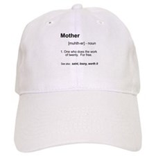 Definition of Mother Baseball Cap