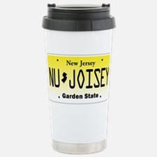 NU JOISEY, New Jersey, License Plate Stainless Ste