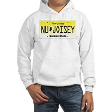 NU JOISEY, New Jersey, License Plate Hoodie
