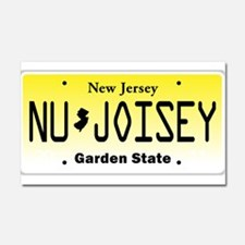 NU JOISEY, New Jersey, License Plate Car Magnet 20