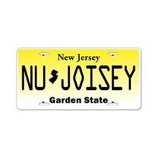 NU JOISEY, New Jersey, License Plate Aluminum Lice