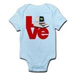 Computer Love Infant Bodysuit
