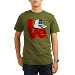 Computer Love Organic Men's T-Shirt (dark)