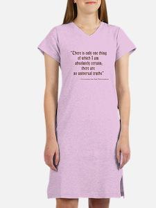 Universal Truths Women's Nightshirt