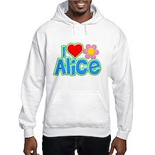 I Heart Alice Hoodie Sweatshirt