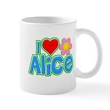 I Heart Alice Small Mug