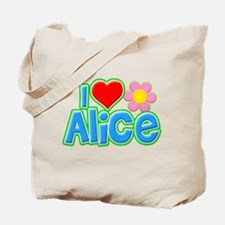 I Heart Alice Tote Bag