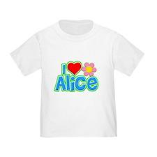I Heart Alice Infant/T