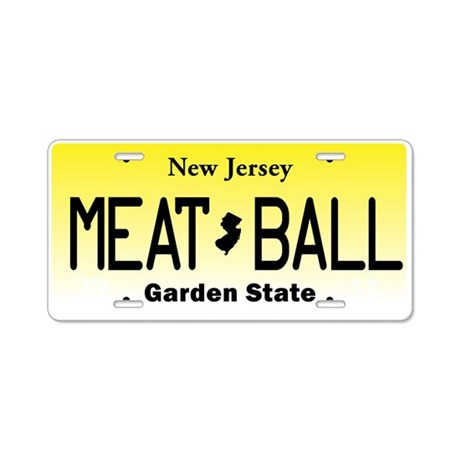 NU JOISEY New Jersey License Plate Aluminum Lice By