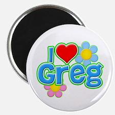I Heart Greg Magnet