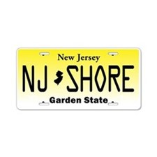 New Jersey, License Plate, Jersey Shore Aluminum L