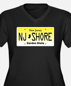 New Jersey, License Plate, Jersey Shore Women's Pl