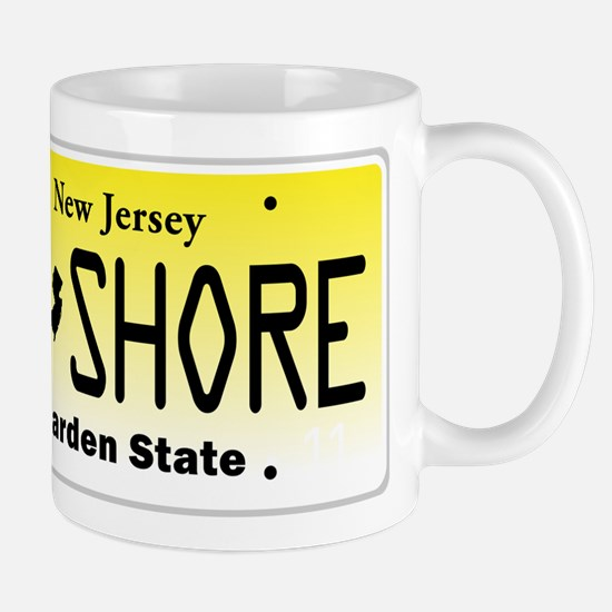 New Jersey, License Plate, Jersey Shore Mug