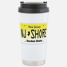 New Jersey, License Plate, Jersey Shore Travel Mug